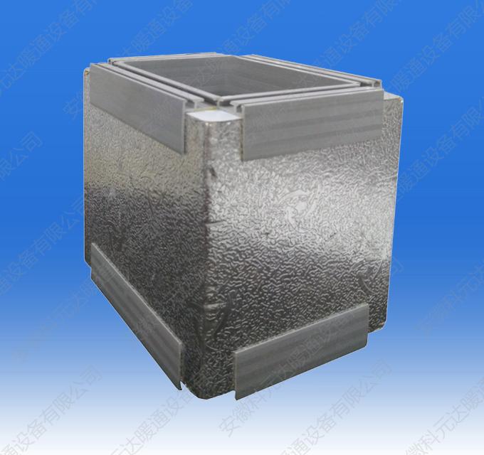 PVC法兰双面铝箔酚醛复合风管