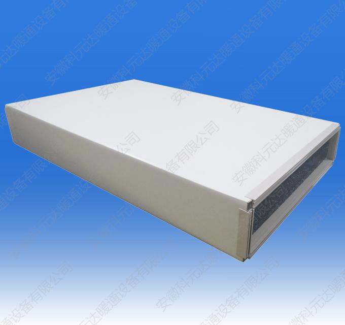 PVC法兰单面彩钢铝箔酚醛复合风管
