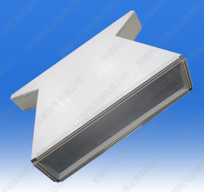 PVC法兰双面彩钢酚醛复合风管