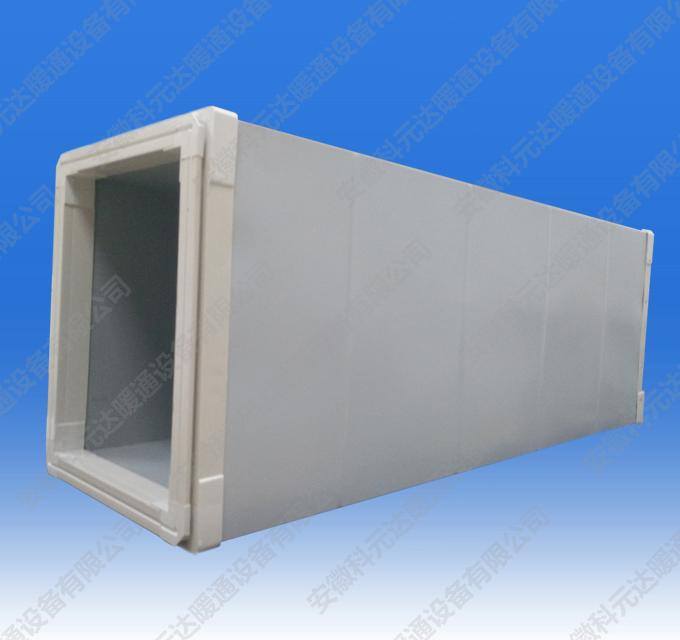 高效型单面彩钢板玻纤复合风管